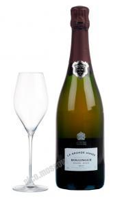Шампанское Bollinger La Grande Annee Rose Brut шампанское Болингер Брют Розе 2004