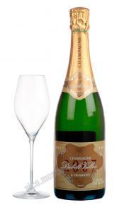 Diebolt-Valois Millesime Blanc de Blancs шампанское Дьебольт-Валлуа Блан де Блан Миллезим Брют
