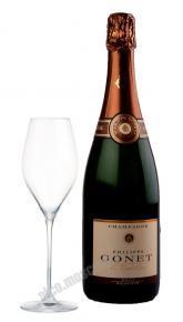Philippe Gonet Reserve Brut AOC 0,75l Шампань Филип Гоне Резерв Брют АОС 0,75л