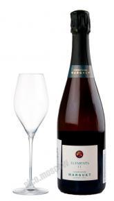Marguet Elements 11 Grand Cru Champagne AOC Шампанское Марге Экстра Брют Элеман 11 Гран Крю