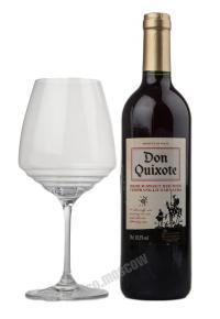 Don Quixote red medium sweet испанское вино Дон Кихот рэд медиум свит