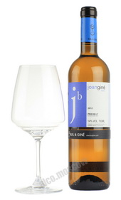 Joan Gine Blanc Crianza Priorat испанское вино Жоан Жине Блан Крианса Приорат