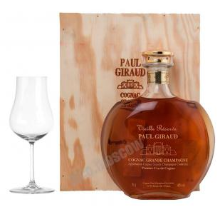Paul Giraud Vieille Reserve Grande Champagne Premier Cru 25 years коньяк Поль Жиро Вьей Резерв Гран Шампань Премье Крю 25 лет