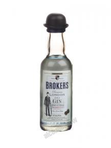 Миньон Brokers джин шкалик Брокерс джин мини бутылка