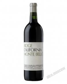 Ridge California Monte Bello 2009 Вино Ридж Виньярдс Монте Белло 2009г