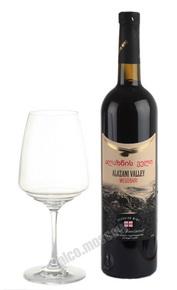 Megobari Alazani Valley Red Semi Sweet грузинское вино Мегобари Алазанская Долина Красное Полусладкое