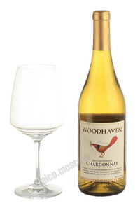 Woodhaven California Chardonnay американское вино Вудхэвен Шардонне