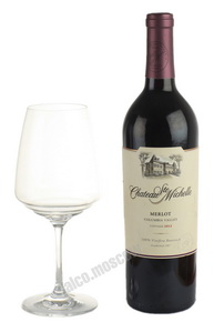Chateau Ste Michelle Merlot Columbia Valley американское вино Шато Сент Мишель Мерло Коламбия Вэлли
