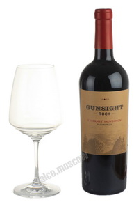 Gunsight Rock Cabernet Sauvignon американское вино Гансайт Рок Каберне Совиньон