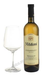 Mildiani Tsinandali грузинское вино Милдиани Цинандали