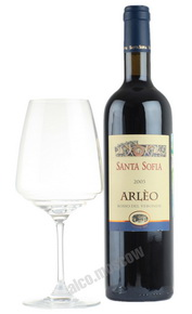 Santa Sofia Arleo итальянское вино Санта София Арлео