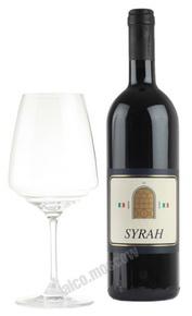 Enrico Fossi Syrah Итальянское Вино Энрико Фосси Сира