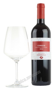 Zerbina Sangiovese di Romagna Superiore Ceregio итальянское вино Дзербина Санджиовезе ди Романья Cуперьоре Череджио