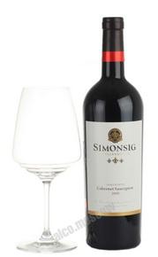 Simonsig Cabernet Sauvignon Южно-африканское вино Симонсиг Каберне Совиньон