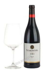 Simonsig Shiraz Южно-африканское вино Симонсиг Шираз