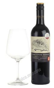 Porcupine Ridge Cabernet Sauvignon  Южно-африканское вино Поркьюпайн Ридж Каберне Совиньон