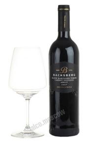 Backsberg Cabernet Sauvignon Merlot Южно-африканское вино Каберне Совиньон Мерло