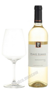San Nicolas Punti Ferrer Sauvignon Blanc чилийское вино Сан Николас Пунти Феррер Совиньон Блан