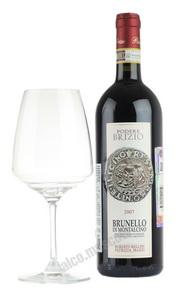 Podere Brizio Brunello di Montalcino Итальянское вино Подере Брицио Брунелло ди Монтальчино