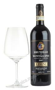 Lisini Brunello di Montalcino 2007 Итальянское вино Лисини Бруннело ди Монтальчино 2007