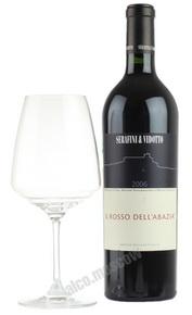 Serafini & Vidotto Il Rosso dellAbazia итальянское вино Серафини э Видотто Иль Россо дель Абация