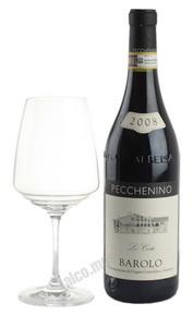Pecchenino Le Coste Barolo Итальянское Вино Пеккенино Ле Косте Бароло