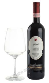 Mauro Sebaste Barolo Prapo 2001 Итальянское вино Мауро Себасте Бароло Прапо 2001