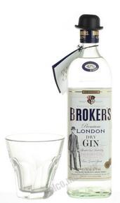 Brokers 0.7l джин Брокерс 0.7л