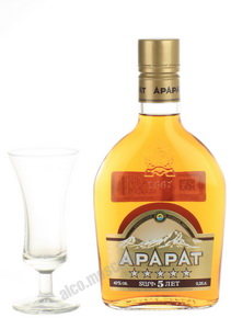 Ararat 5 years 0.25l Коньяк Арарат выдержка 5 лет 0.25л
