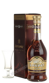 Ararat 5 years 0.5l коньяк Арарат выдержка 5 лет 0.5л