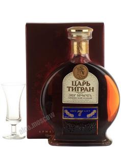 Армянский коньяк Царь Тигран 7 лет 0.5л
