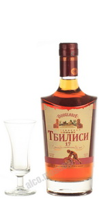 Tbilisi 17 years грузинский коньяк Тбилиси 17 лет