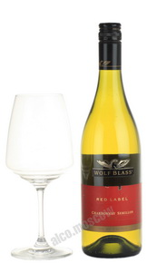 Wolf Blass Red Label Chardonnay Semillon Австралийское Вино Вольф Бласс Ред Лейбл Шардонне Семийон