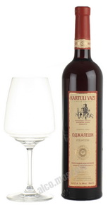 Kartuli Vazi Odzhaleshi грузинское вино Картули Вази Оджалеши