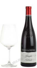 Fontanafredda Nebbiolo Langhe итальянское вино Фонтанафредда Неббиоло Ланге