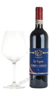 La Togata Brunello di Montalcino Итальянское Вино Ла Тогата Брунелло ди Монтальчино