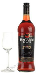 Bacardi Black Ром Бакарди Блэк 1 литр
