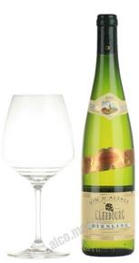 Cleebourg Risling Prestige Французское вино Клебург Рислинг Престиж