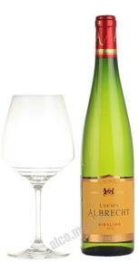Lucien Albrecht Riesling Reserve Французское вино Люсьен Альбрешт Рислинг Резерв