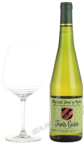 Trois Epees Muscadet Sevre et Maine Французское вино Труа Эпэ Мюскаде Севр Э Мэн
