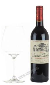 Chateau Montlau Bordeaux Superior Французское вино Шато Монло Бордо Сюперьор