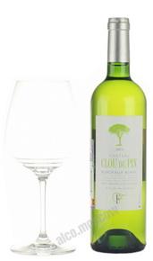 Chateau Clou du Pin Blanc Французское вино Шато Клу дю Пэн Блан