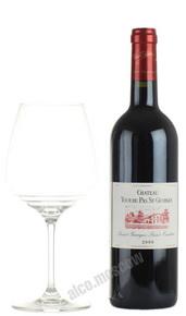 Chateau Tour du Pas Saint Georges Saint Emilion Французское вино Шато Тур Дю Па Сен Жорж Сэнт Эмильон
