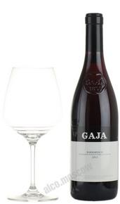 Gaja Barbaresco Итальянское вино Гая Барбареско