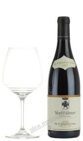 M.Chapoutier Hermitage Monier de la Sizerannee Французское вино М.Шапутье Эрмитаж Монье де ля Сизеран