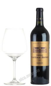Chateau Cantenac Brown Margaux 2007 Французское вино Шато Кантенак Браун Марго 2007