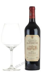 Chateau du Tertre Margaux Grand Cru 2003 Французское вино Шато дю Тертр Марго 2003