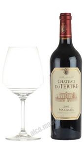 Chateau du Tertre Margaux Grand Cru 2007 Французское вино Шато дю Тертр Марго 2007