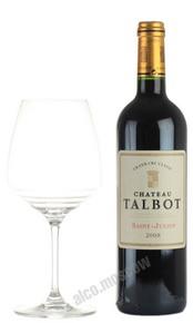 Chateau Talbot Grand Cru Classe 2008 Французское вино Шато Тальбо 2008