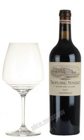 Chateau Troplong Mondot Saint-Emilion Grand Cru Classe Французское вино Шато Тролон Мондо Гран Крю